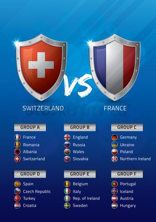 Ukraine : Switzerland vs france