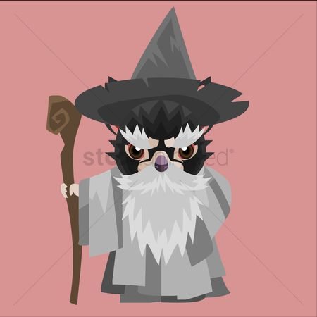 Staffs : Tasmanian devil wizard