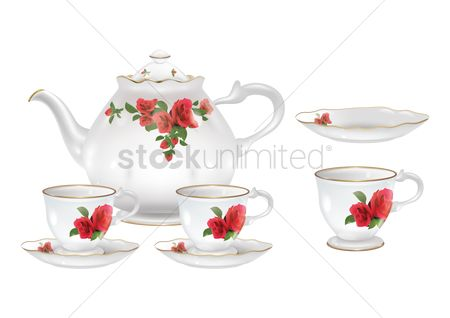 Teapot : Tea set