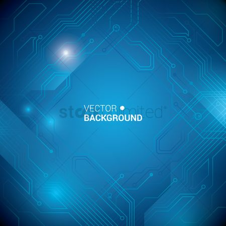 Technology background : Technical circuit board background