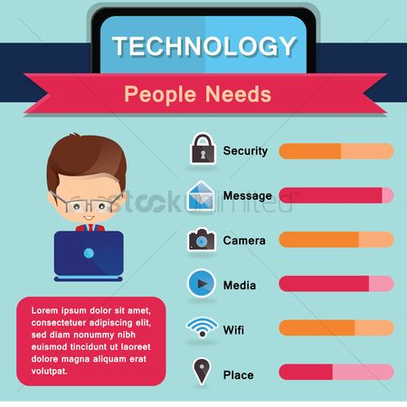Wifi : Technology infographic