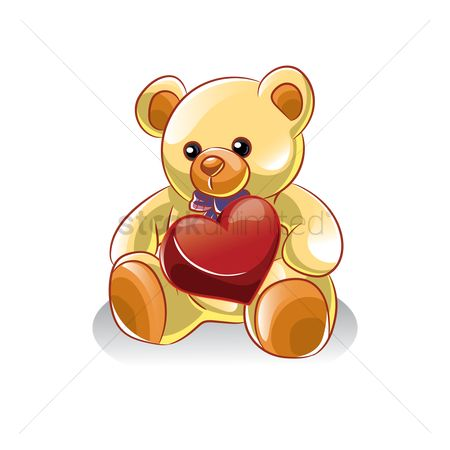 Teddybear : Teddy with heart