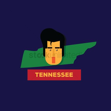 Tennessee : Tennessee state map