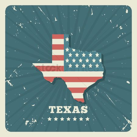 Oldfashioned : Texas map