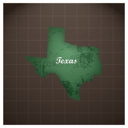 Texas : Texas state map