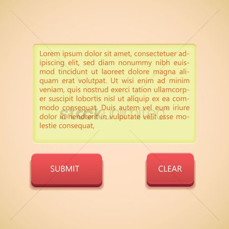 Clears : Text input template