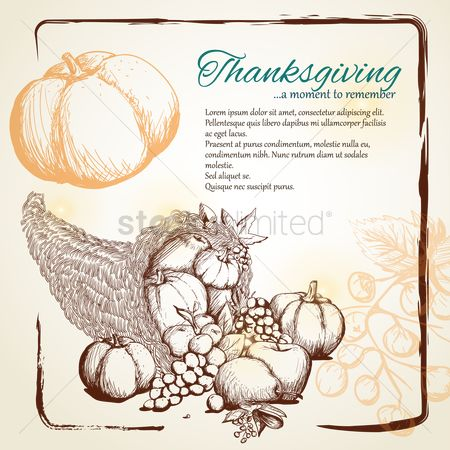 Grapes : Thanksgiving card