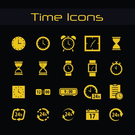 Mechanicals : Time icons pack