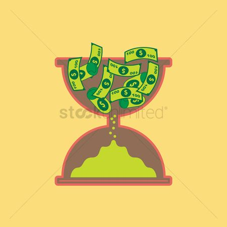 Ideas : Time is money concept