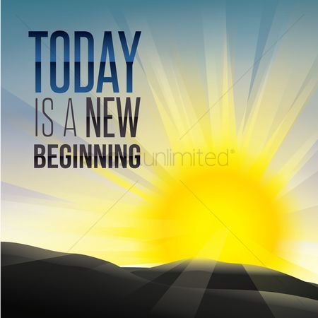 Sunray : Today is a new beginning