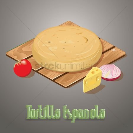 Main : Tortilla espanola