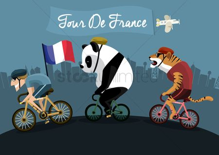 Tricolored : Tour de france