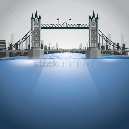 England : Tower bridge
