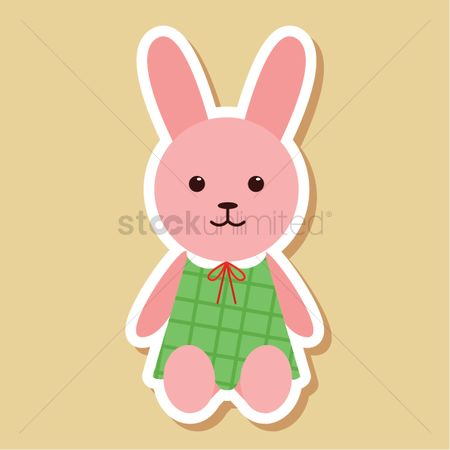 Dolls : Toy bunny