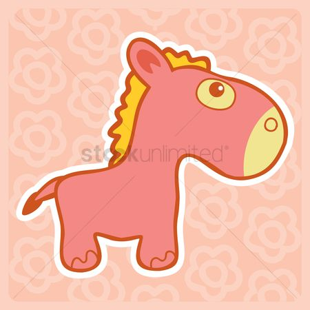 Play kids : Toy horse