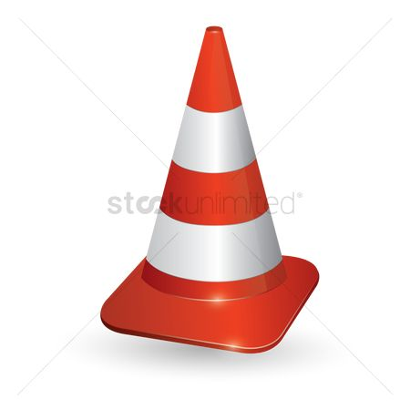 Barrier : Traffic cone
