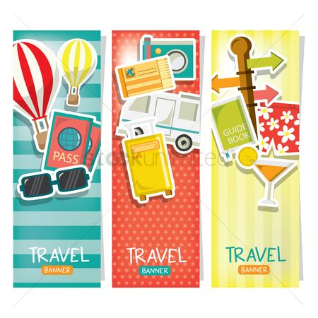 Lorries : Travel banners