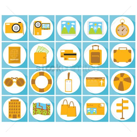 Handy : Travel icons