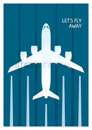 Aeroplanes : Travel poster design