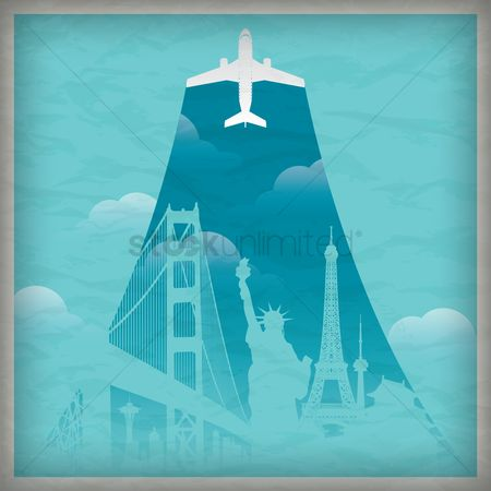 Airplane : Travel wallpaper