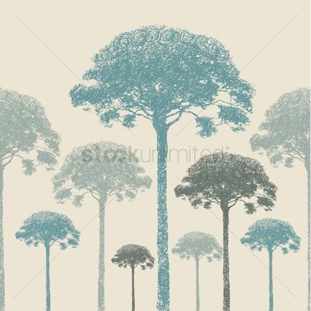 Backdrops : Trees background design