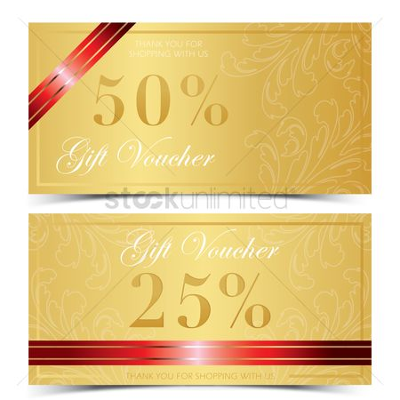 Store : Two classic gift voucher