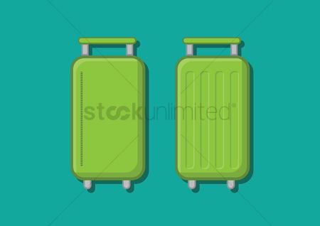 Background : Two suitcases