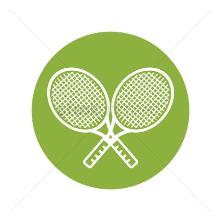 Racket : Two tennis rackets