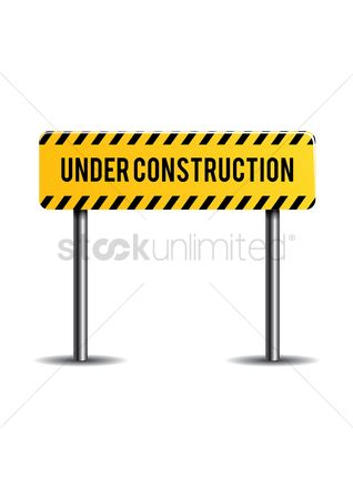 Caution : Under construction sign