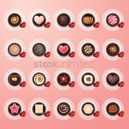 Confectionery : Valentine s day chocolates