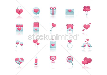 Love speech bubble : Valentines collection