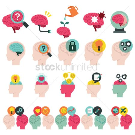 Jigsaw : Various brain related images