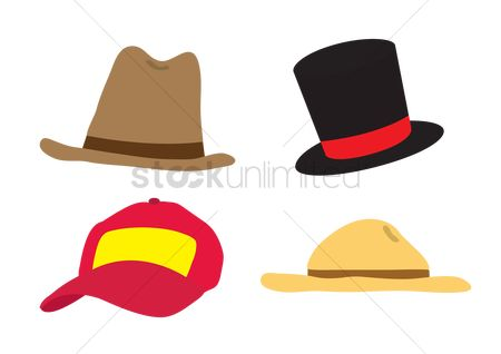 Baseball : Various hats and caps