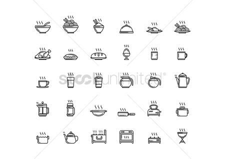 Stove : Various icons
