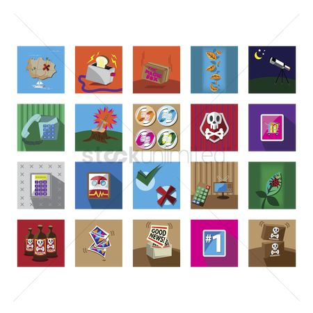 Islands : Various miscellaneous icons