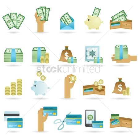 Phones : Various money related images