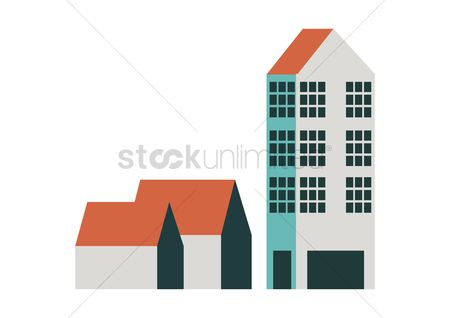 Office  building : Vector of buildings