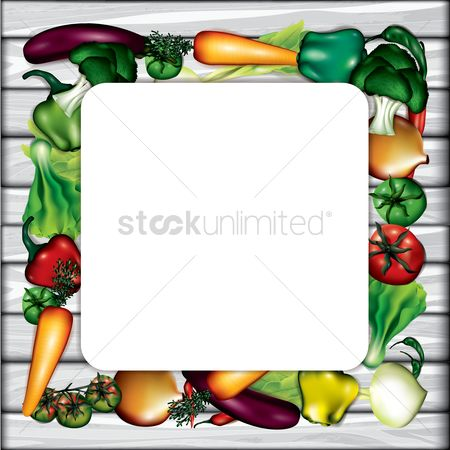 Lettuce : Vegetables layout with copyspace