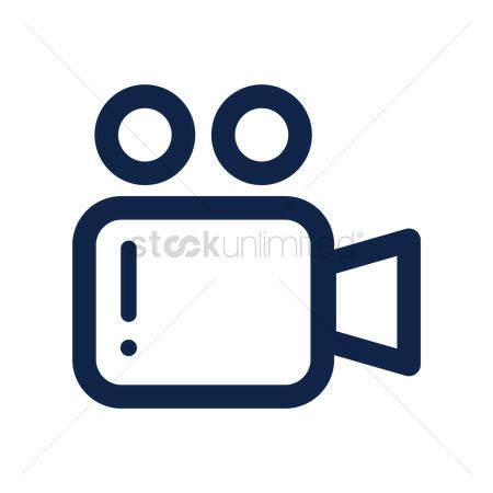 Multimedias : Video camera icon