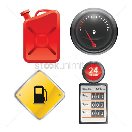 Hours : Vintage gas pump meter  fuel container  fuel gauge  petrol station signage and old gas pump meter