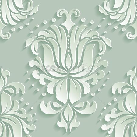 Wallpaper : Vintage pattern background