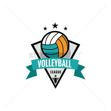 Recreation : Volleyball league emblem