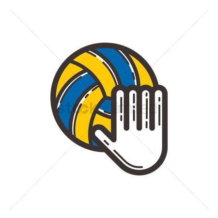 Serve : Volleyball