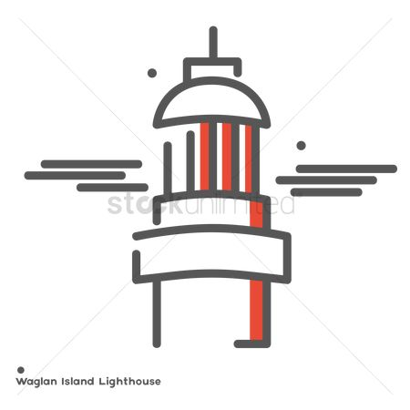 Lighthouses : Waglan island lighthouse