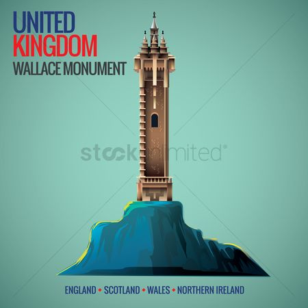 Monuments : Wallace monument