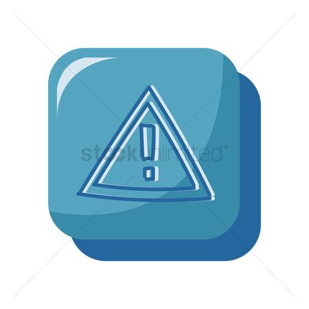 Beware : Warning icon