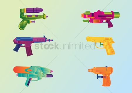Play kids : Water gun set