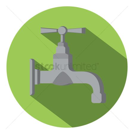 Faucets : Water tap icon