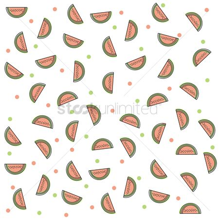 Watermelon slice : Watermelon slice background