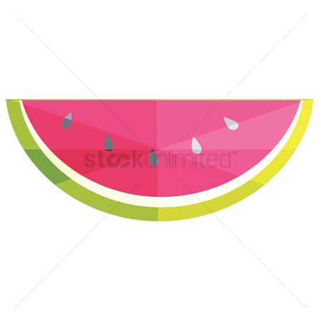 Watermelon slice : Watermelon slice